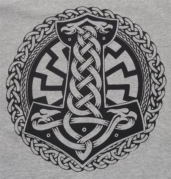 Thor S Hammer Thor Odin Rune Pagan Norse Asatru By Ideas And Designs