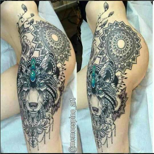17 Best Ideas About Thigh Tattoos On Pinterest Thigh Ideas And Designs