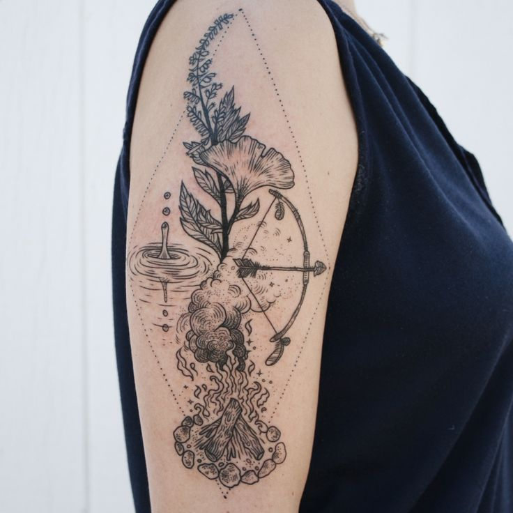 25 Great Ideas About Four Elements Tattoo On Pinterest Ideas And Designs
