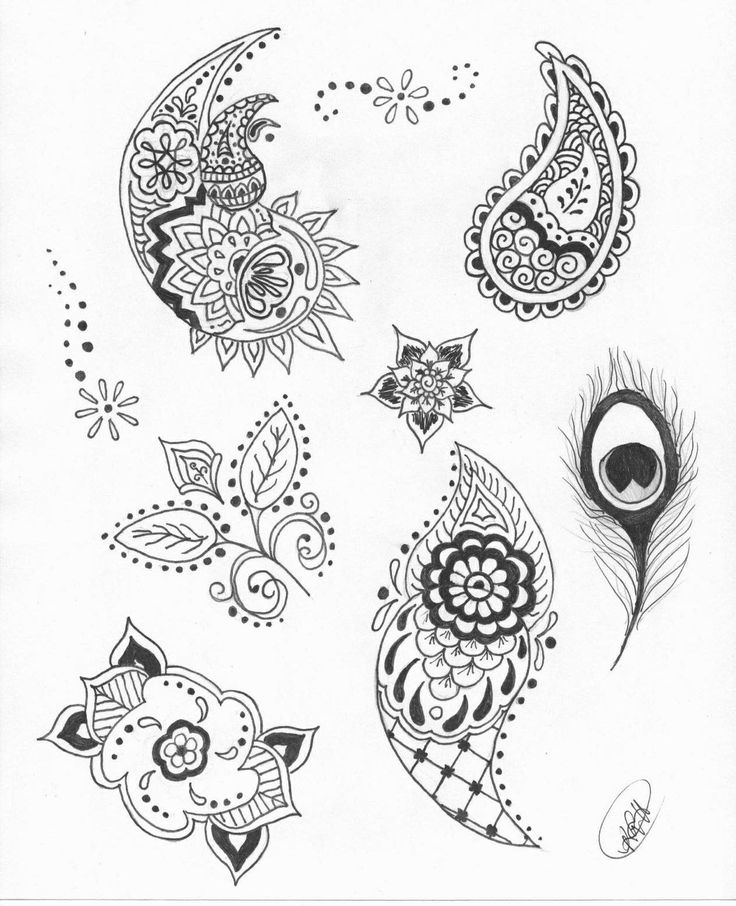Henna Designs For Permanent Half Sleeve Made To Look Like Ideas And Designs