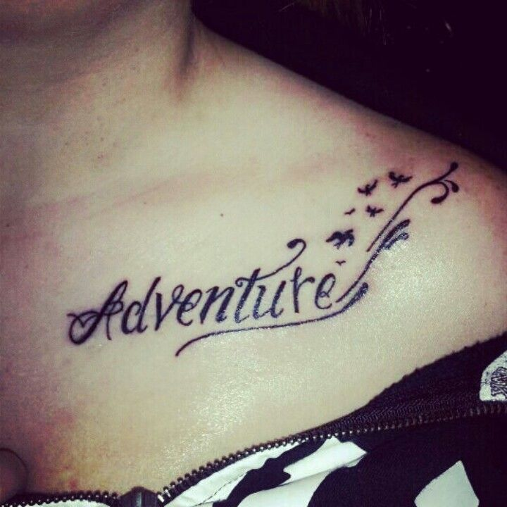 Adventure Tattoo With Birds My Favorite Tats Ideas And Designs