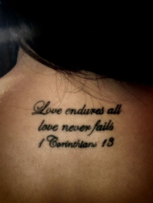 17 Best Ideas About Corinthians Tattoo On Pinterest Ideas And Designs