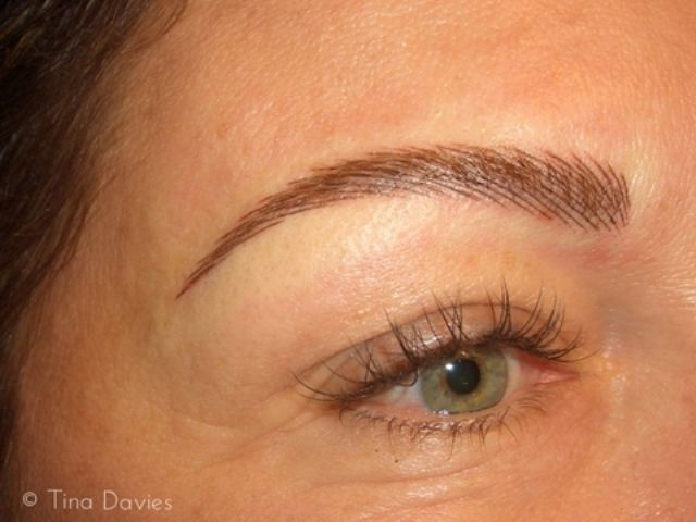 Eyebrow Shapes For Permanent Makeup 3D Eyebrow Tattoo Ideas And Designs