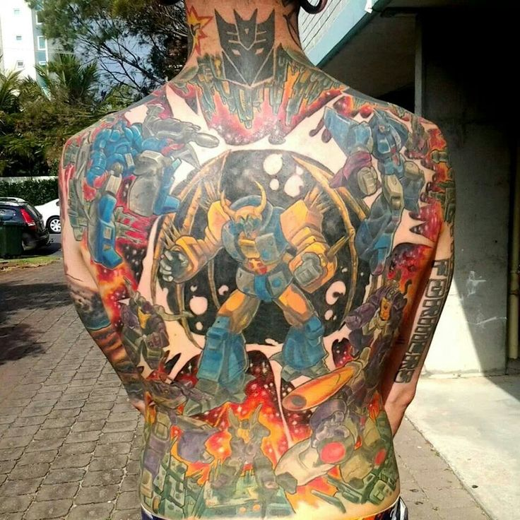 Huge Transformer Back Piece Samantha Can I Get This One Ideas And Designs