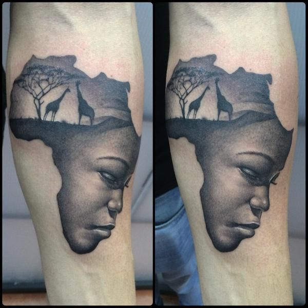 25 Best Ideas About Africa Tattoos On Pinterest African Ideas And Designs