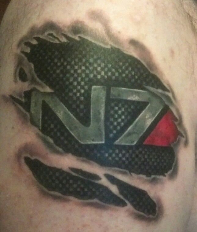 25 Best Mass Effect Tattoo Ideas On Pinterest Mass Ideas And Designs