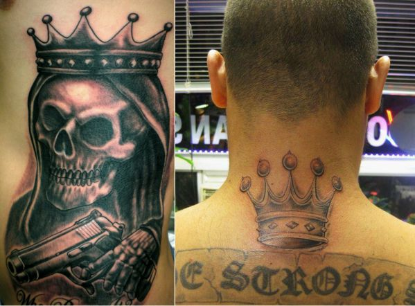 Five Point Crown Latin Kings Gang El Jefe 360 Ideas And Designs