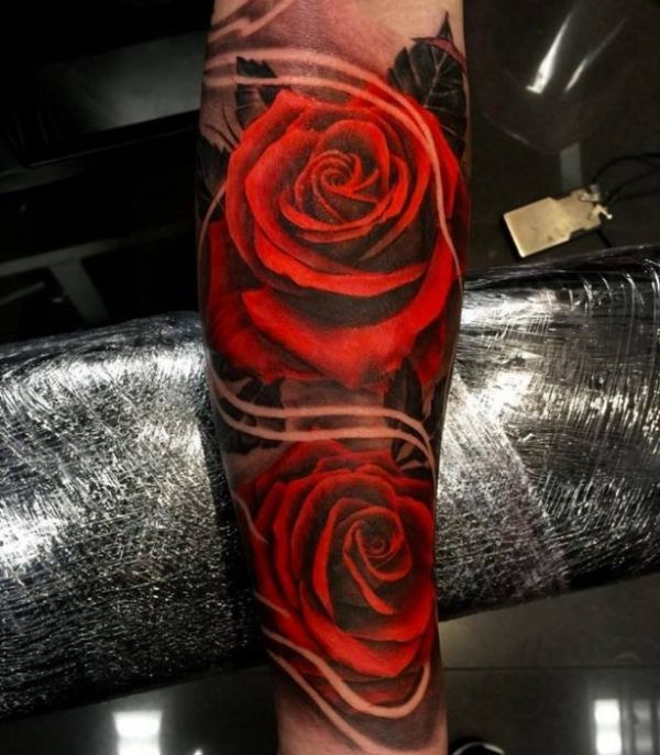17 Best Ideas About 3D Rose Tattoo On Pinterest Purple Ideas And Designs