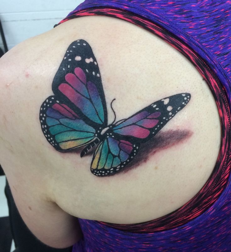 1000 Ideas About 3D Butterfly Tattoo On Pinterest 3D Ideas And Designs