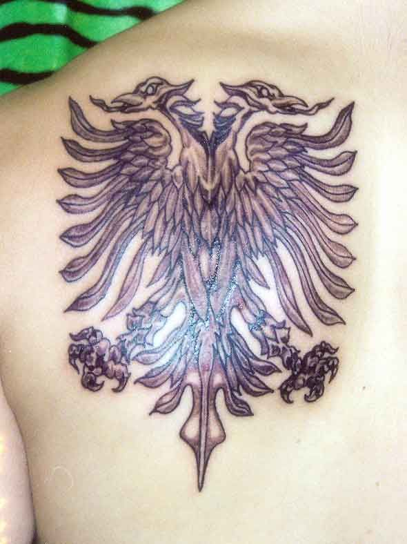 Double Headed Eagle Tattoo Pinterest Double Headed Ideas And Designs