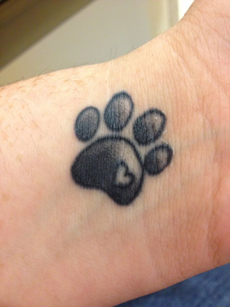 1000 Ideas About Paw Print Tattoos On Pinterest Dog Ideas And Designs