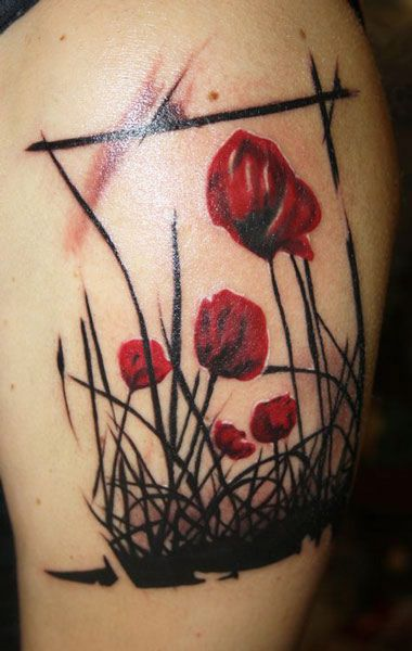 17 Best Ideas About Abstract Flower Tattoos On Pinterest Flower Tattoos On Arm Tattoo Ideas Ideas And Designs