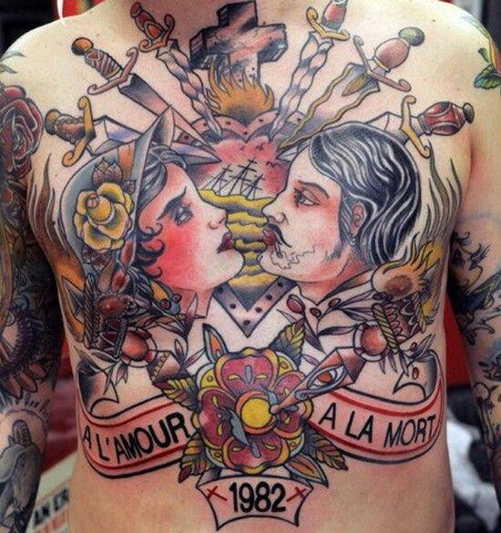 17 Best Images About Chest Piece Tattoos On Pinterest Ideas And Designs