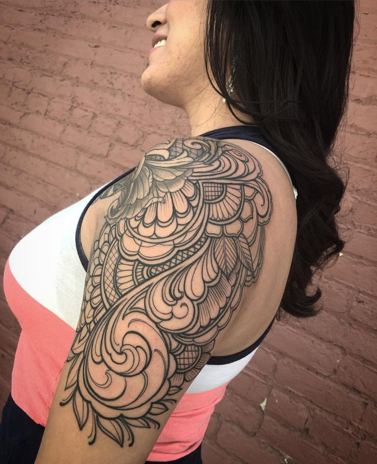25 Best Ideas About Shoulder Cap Tattoo On Pinterest Ideas And Designs