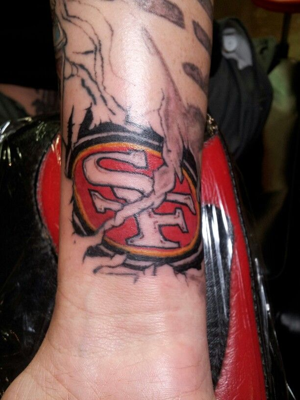 84 Best Images About 49Er Tattoos On Pinterest Fan Ideas And Designs