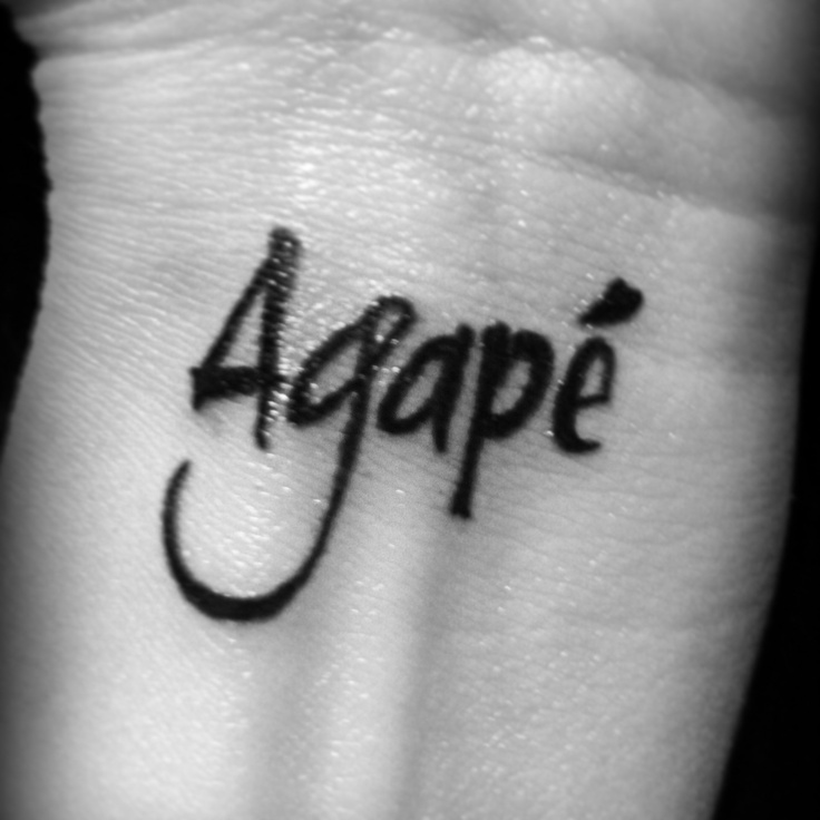 25 Best Ideas About Agape Tattoo On Pinterest Ideas And Designs