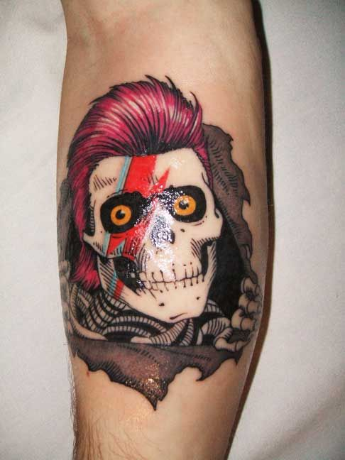 David Bowie X Ziggy Stardust X Powell Peralta Ripper Ideas And Designs