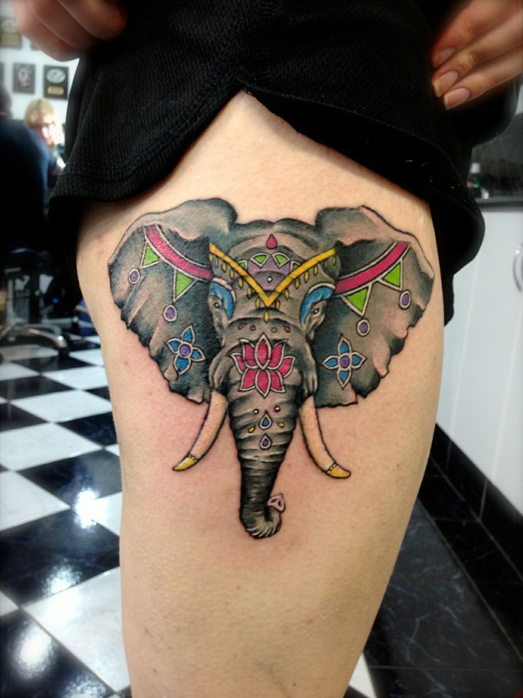 Best 25 Indian Elephant Tattoos Ideas On Pinterest Ideas And Designs