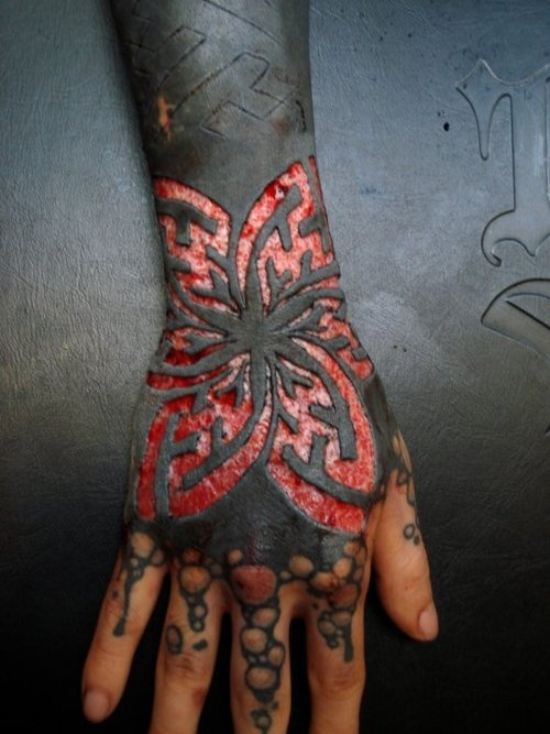 Blackwork Tattoo And Scarification Ink Pinterest Ideas And Designs