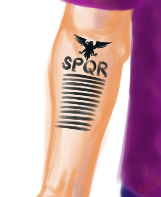 Jason Grace Spqr Tattoo As Long As We Re Together Ideas And Designs