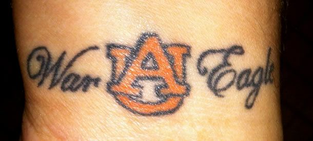 17 Best Images About Auburn Tigers Tattoos On Pinterest Ideas And Designs