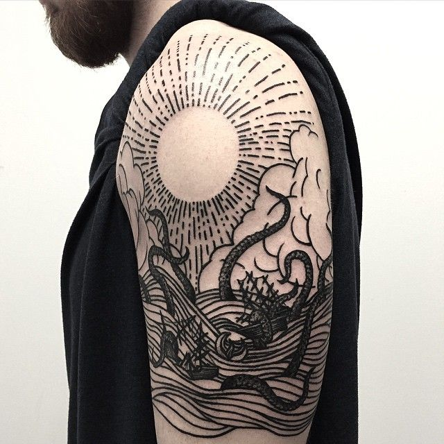 17 Of 2017 S Best Woodcut Tattoo Ideas On Pinterest Ideas And Designs