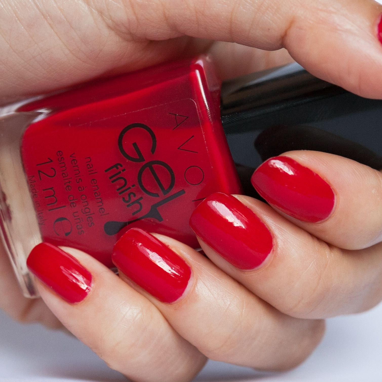 Avon Gel Finish Candy Apple Nails Pinterest Apple Ideas And Designs