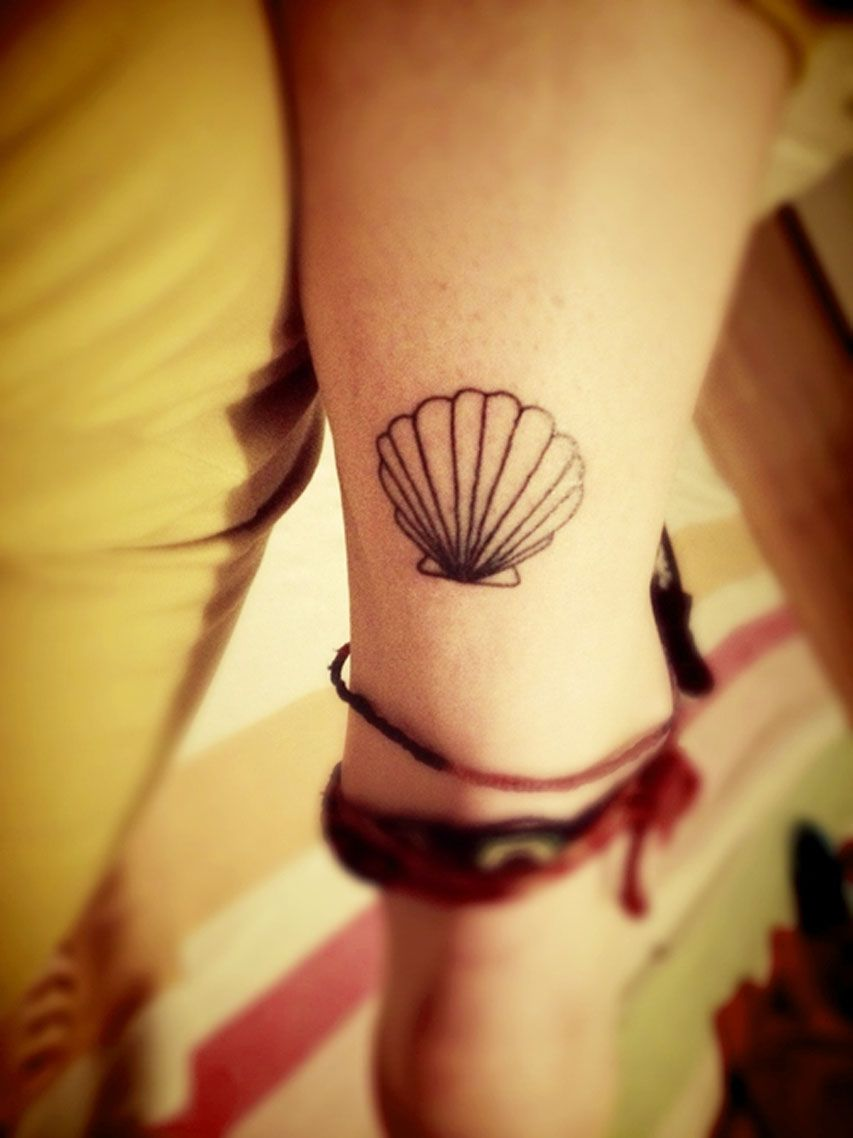 Shell Tattoo Like Placement Tattoos I Like Inspiration Ideas And Designs