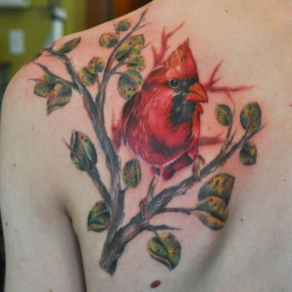 Red Cardinal Tattoo Designs Tattoos Of The Cardinal Ideas And Designs