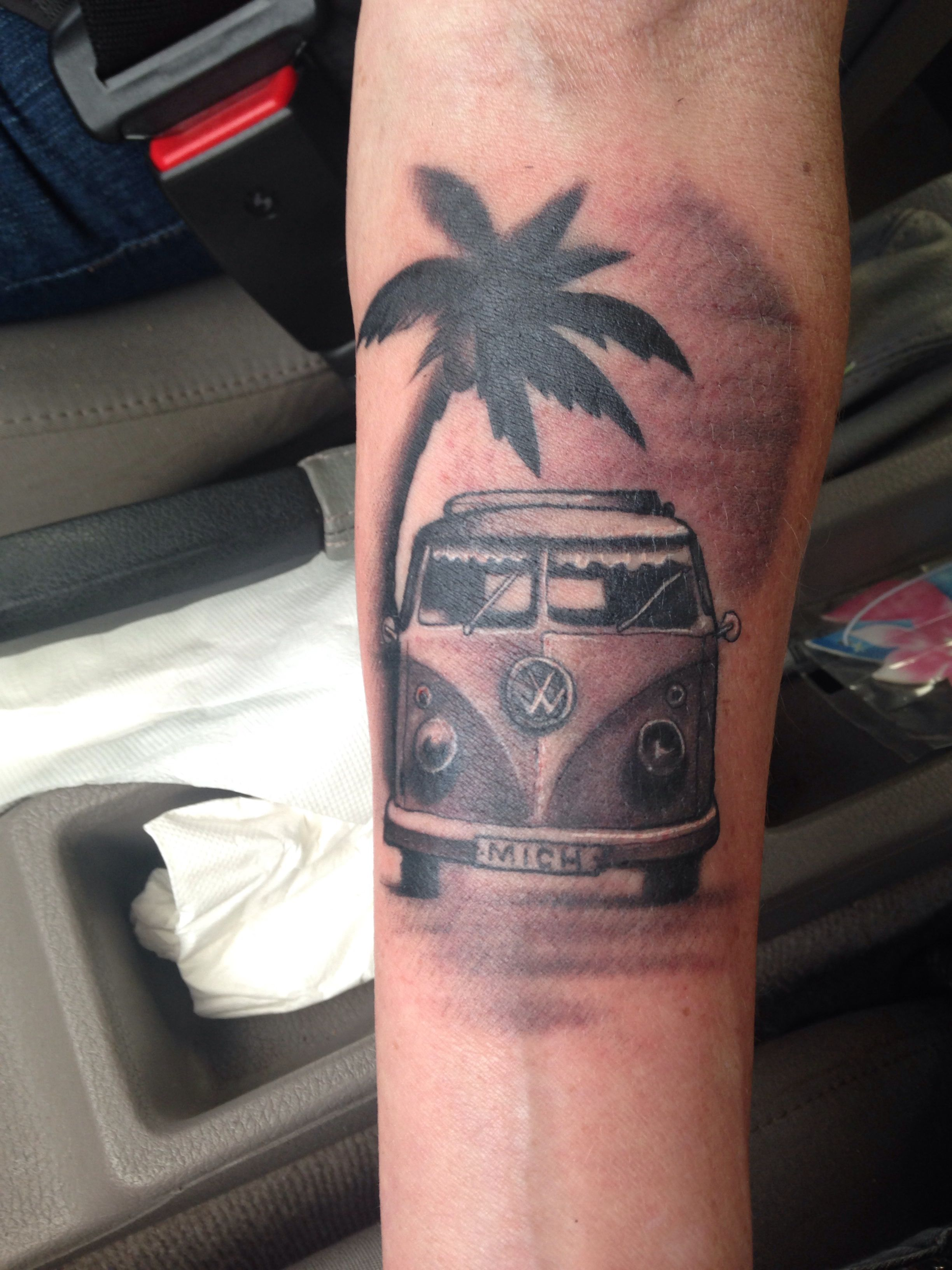 Vw Camper Tattoo Sleeve Tattoos Pinterest Vw Camper Ideas And Designs