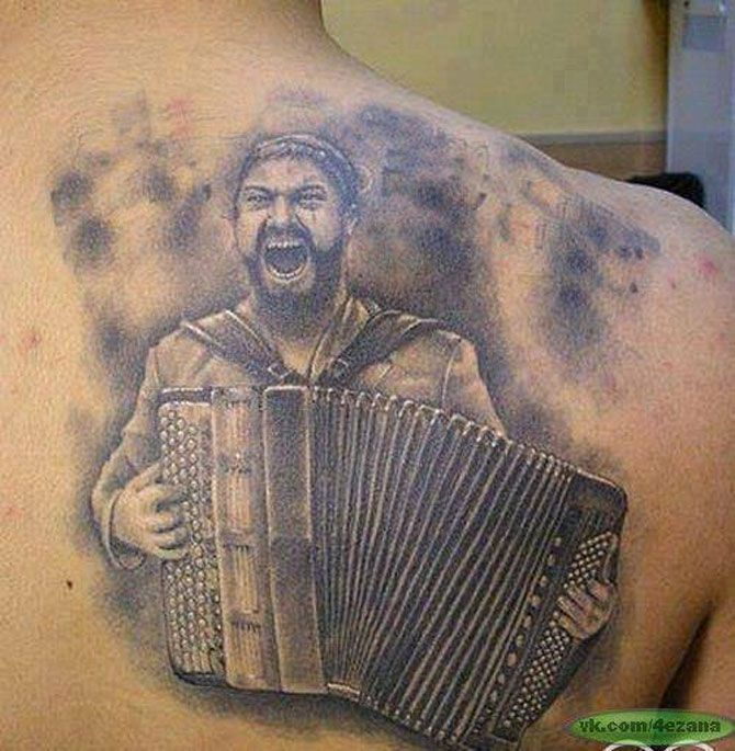 This Is Accordion Funny Pinterest Tattoo Ideas And Designs