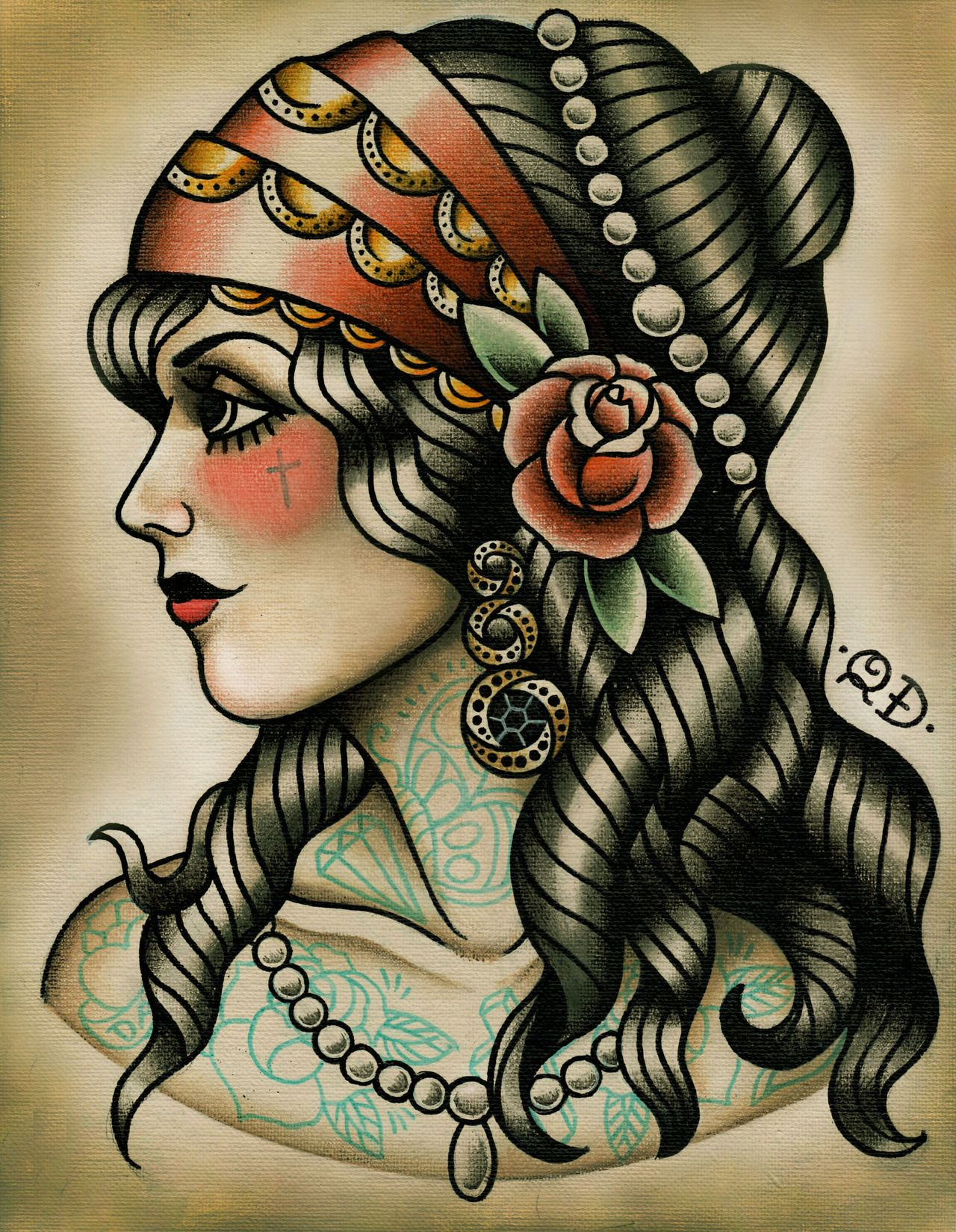 Best Traditional Tattoos Designs Traditional Gypsy Ideas And Designs