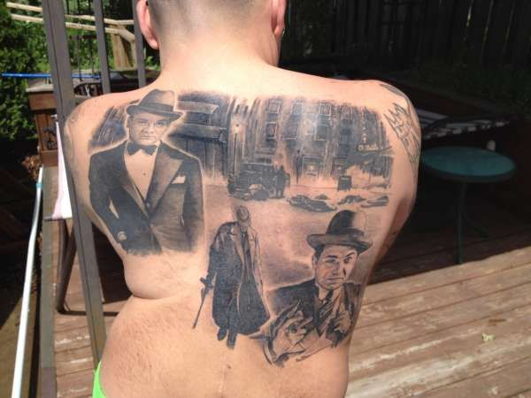 Classic Movie 1930 S Gangsters Tattoo 157851 Jpeg 600×450 Ideas And Designs