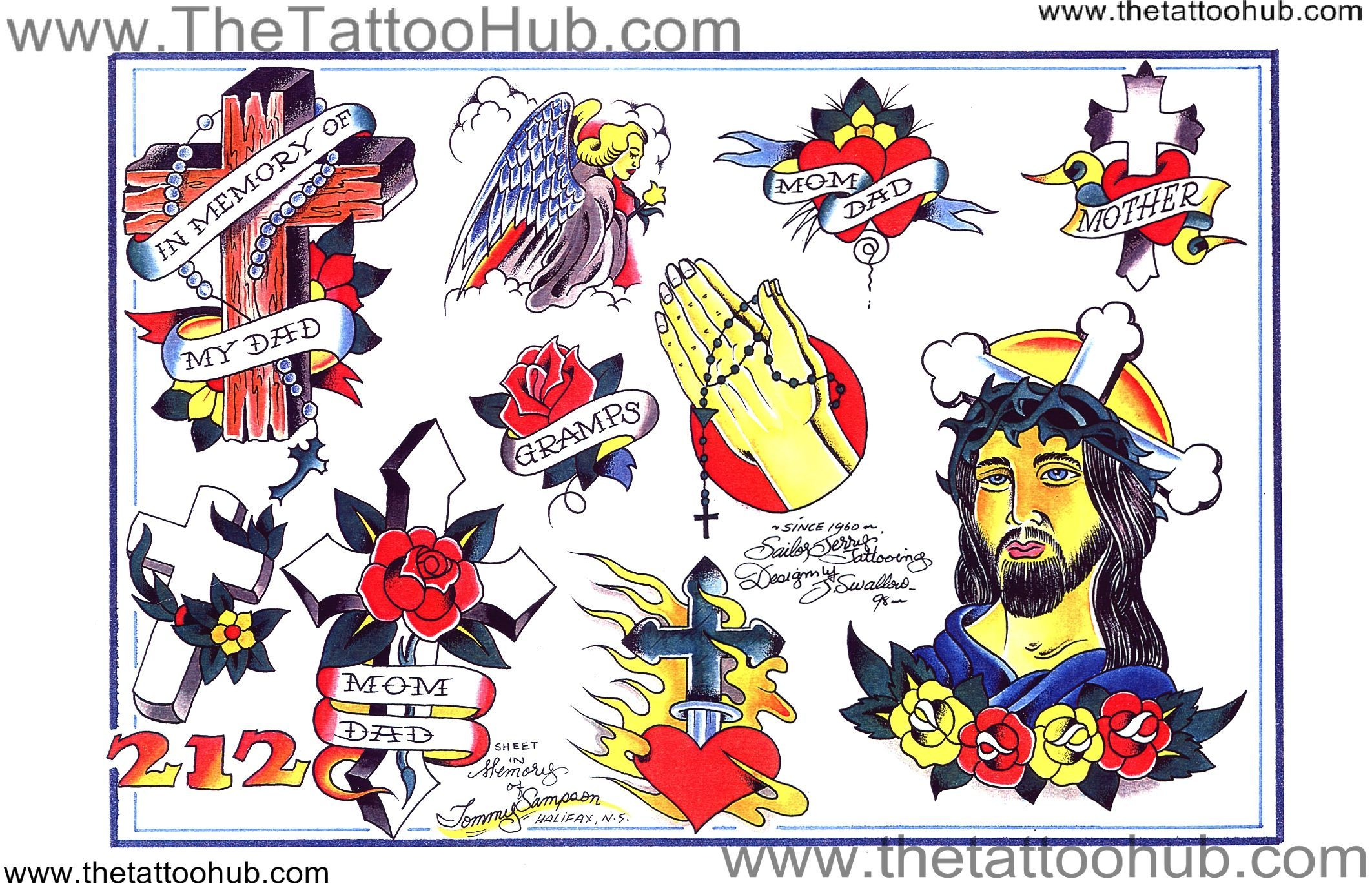 Pin By Scott Tilton On Sailor Jerry Vintage Tattoo Flash Ideas And Designs