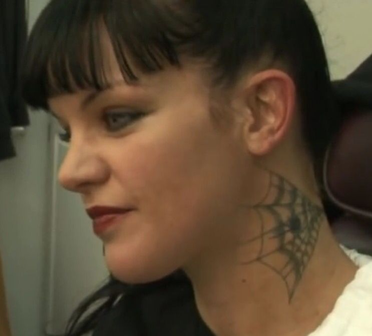 Ncis Abby S Neck Tattoo Tattoo Ideas Pinterest Ideas And Designs