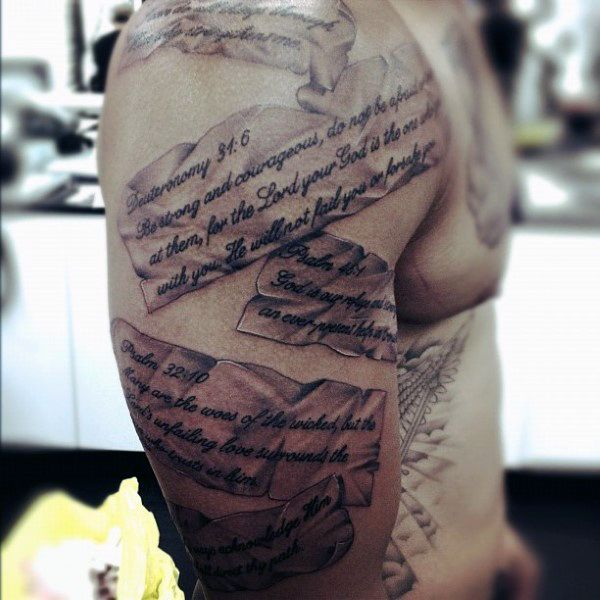 50 Bible Verse Tattoos For Men Tattoos For Men Ideas And Designs
