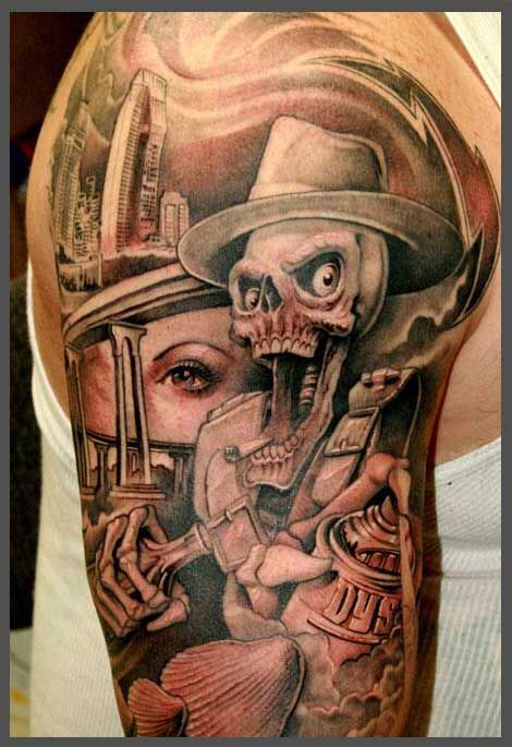 Jose Lopez Tattoos Jose Lopez At The Biggest Tattoo Show Ideas And Designs