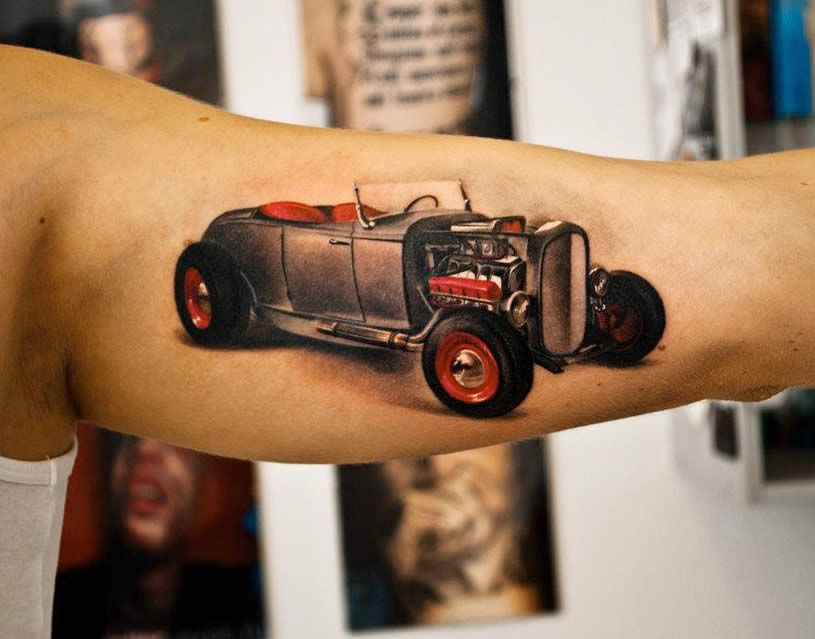 Tattoos From Eastern Europe Car Tattoos Tattoo And Cars Ideas And Designs