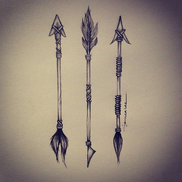 Cupids Arrows Tribal Illustration Arrow ⭐Ink Me Ideas And Designs
