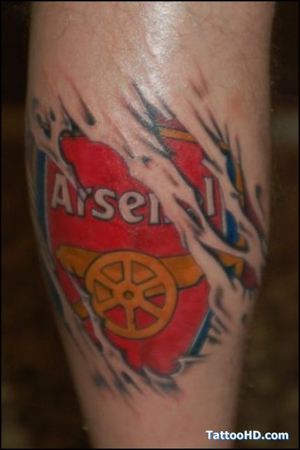 Arsenal Fan Tattoo Ideas Pinterest Arsenal Fans And Ideas And Designs