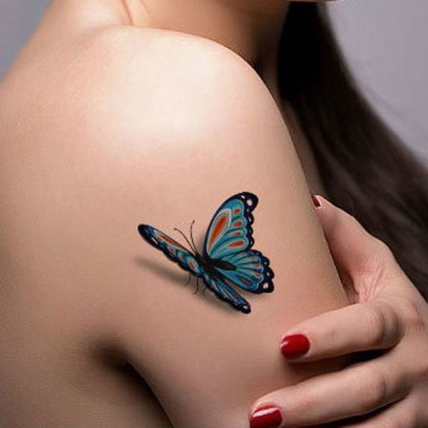 65 3D Butterfly Tattoos Butterfly 3D And Tattoo Ideas And Designs