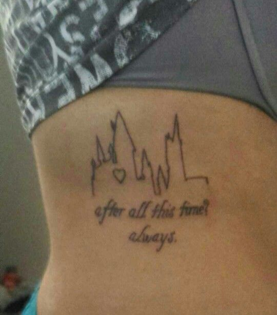 After All This Time Always Harry Potter Tattoo Ideas And Designs