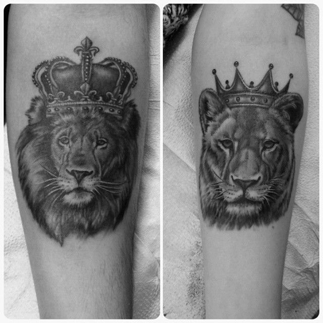 King And Queen L**N Tattoo Designs Tattoos And Piercings Ideas And Designs