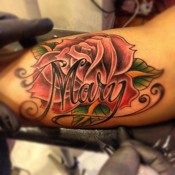 Best 25 Rose Tattoo With Name Ideas On Pinterest Ideas And Designs