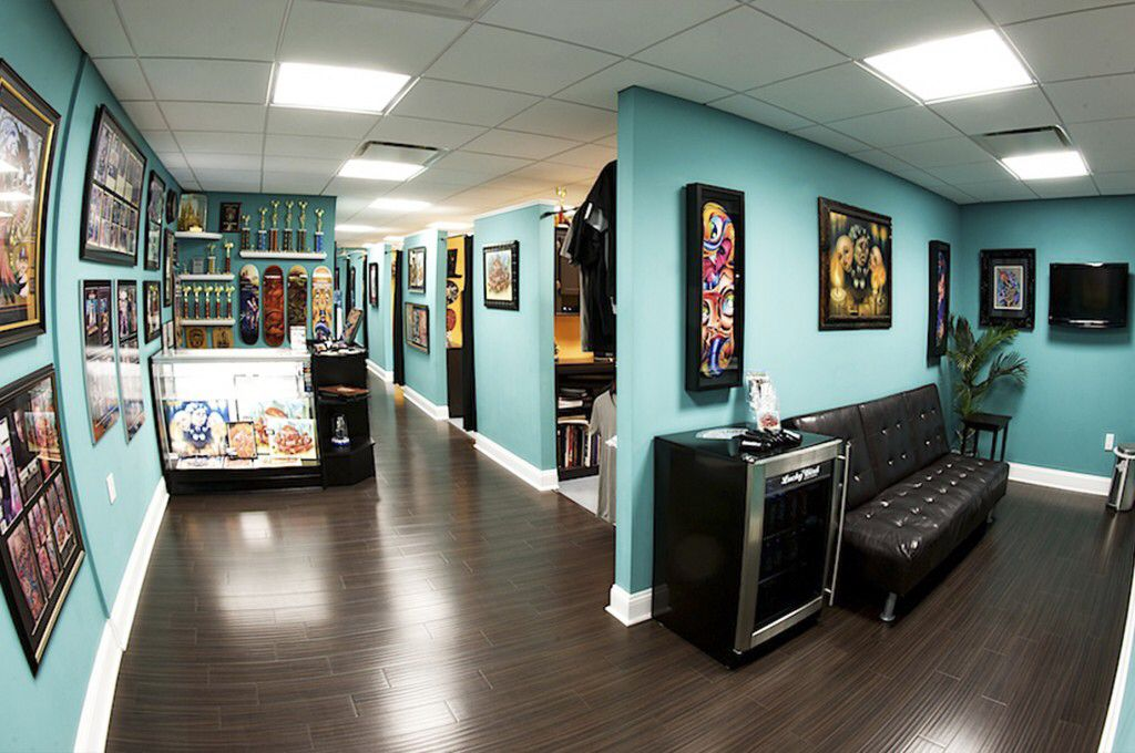 Tattoo Shop Tattoo Shop Interiors Pinterest Tattoos Ideas And Designs