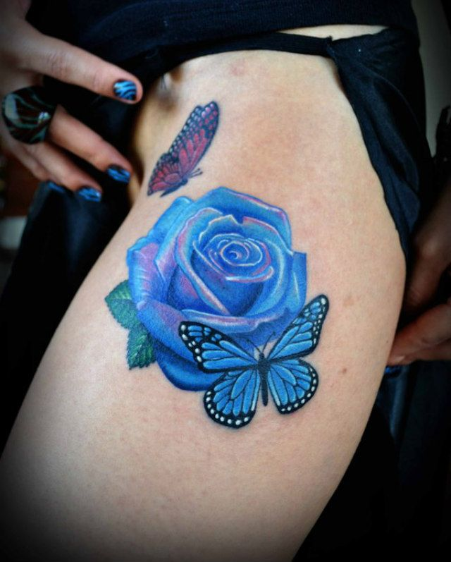 3D Butterfly Tattoos For Women Butterfly Tattoos On Ideas And Designs