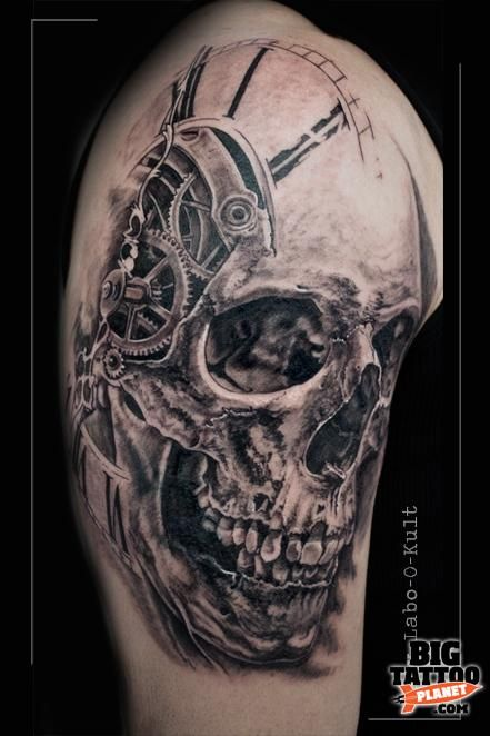 Guy Labo O Kult Black And Grey Tattoo Big Tattoo Ideas And Designs