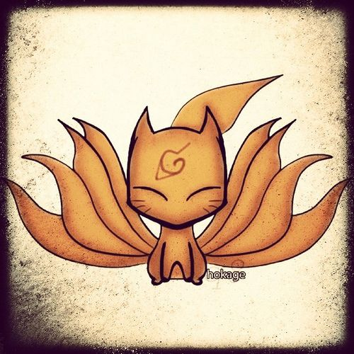 Kyuubi Nine Tailed Fox Naruto Chibi Flickr Photo Ideas And Designs