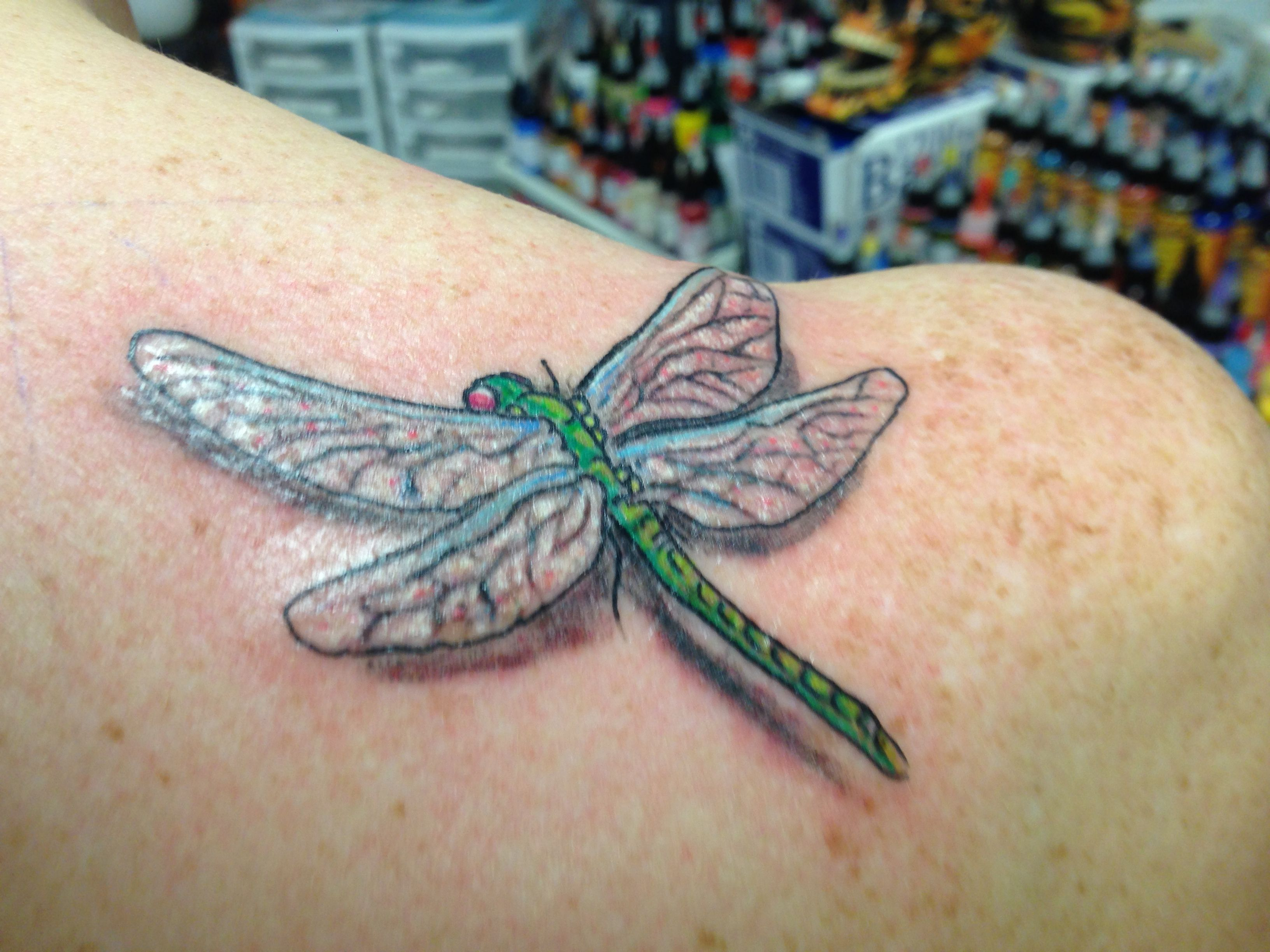 Dragonfly Tattoo 3D Ink Ideas Pinterest Ideas And Designs
