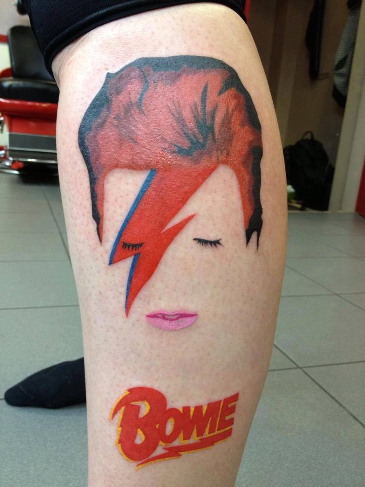 You Love David Bowie Get A Tattoo Sonic More Music Ideas And Designs
